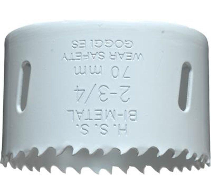 KWB Gatenzaag Bimetaal HSS - CO 70mm