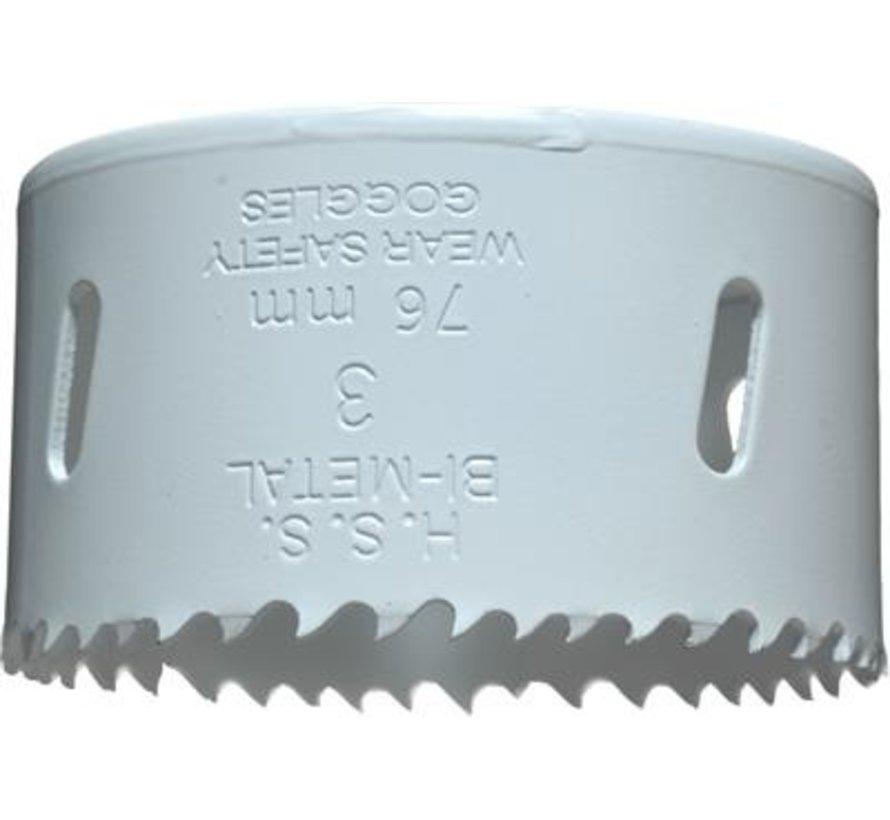 KWB Gatenzaag Bimetaal HSS - CO 76mm
