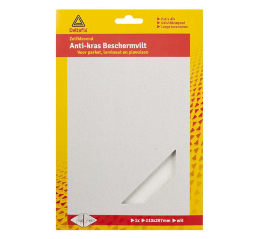Anti-krasvilt A4 Formaat Zelfklevend Wit