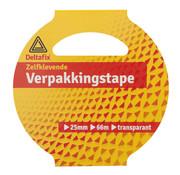 Deltafix Verpakkingstape Transparant 25mm X 66m1