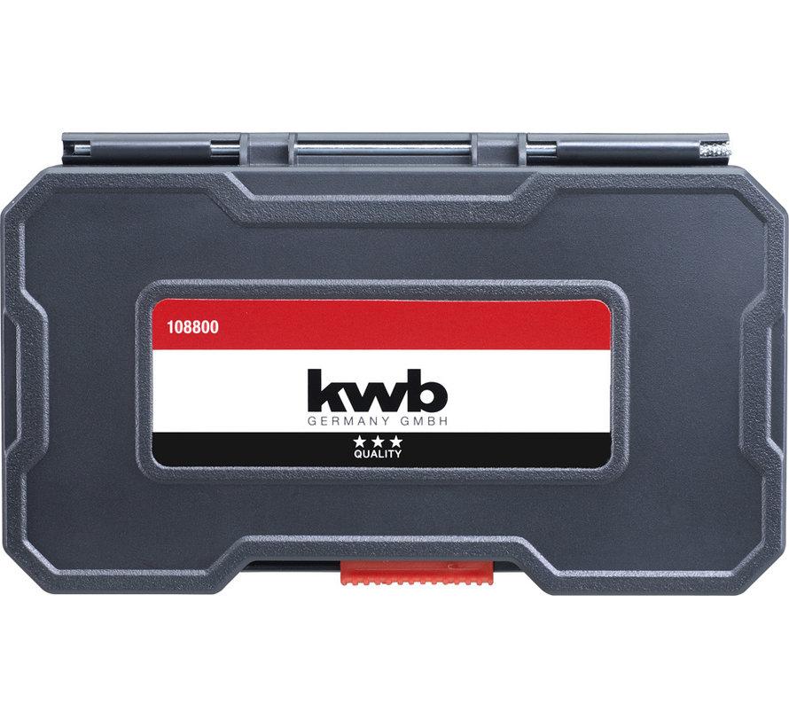 KWB Metaalborenset HSS 12-delig