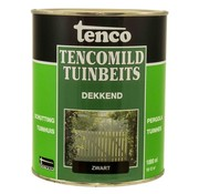 Tenco Tencomild Dekkend Zwart - Tuinbeits - 1 Liter