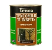 Tenco Tencomild Transparant Donkerbruin - Tuinbeits - 1 liter