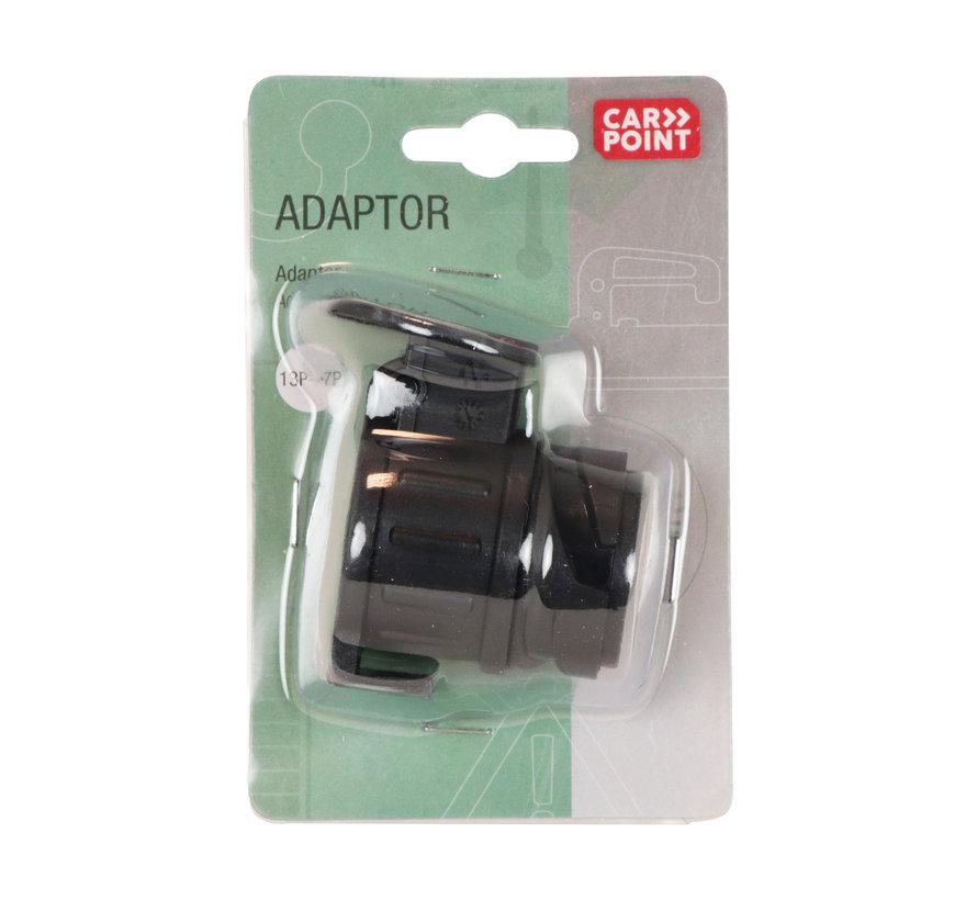Carpoint Adapter 13 naar 7 polig
