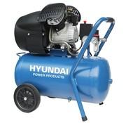 Hyundai Hyundai compressor 50L 3pk met Vochtafscheider