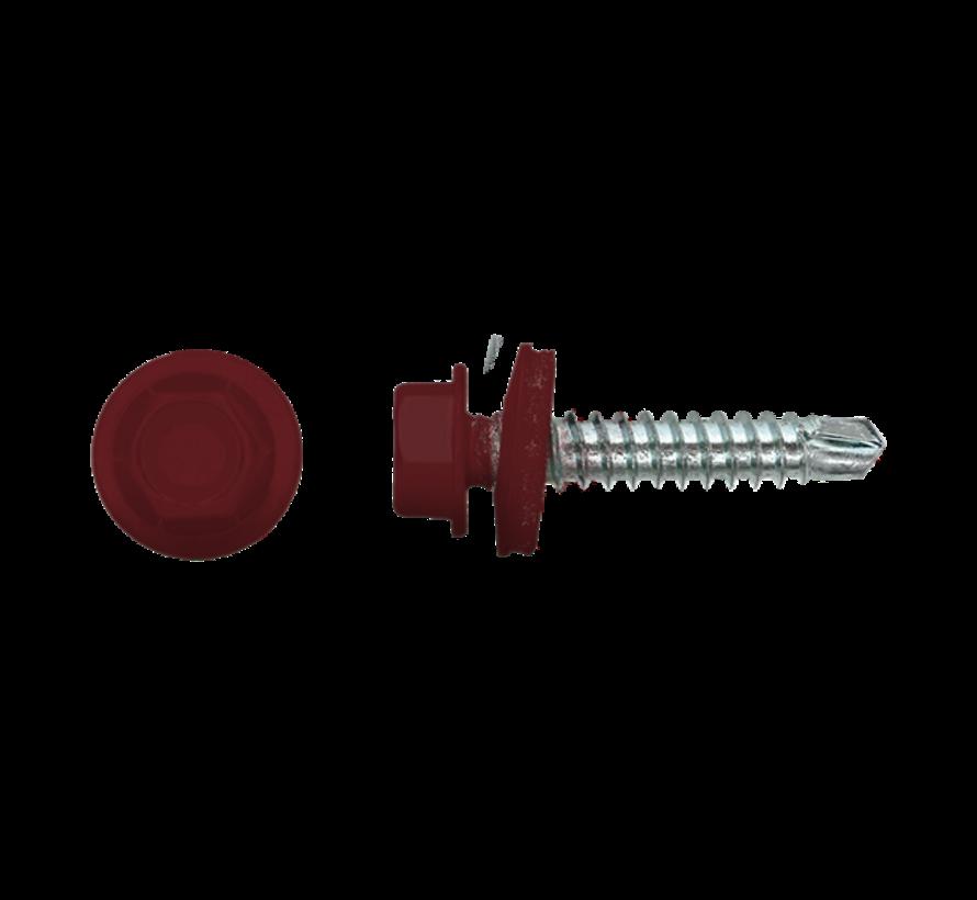 Damwandschroef 35mm Ral 3005