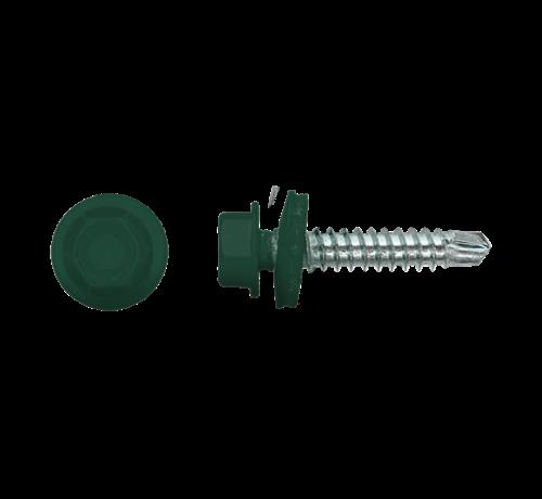PGB Damwandschroef 35mm Ral 6005