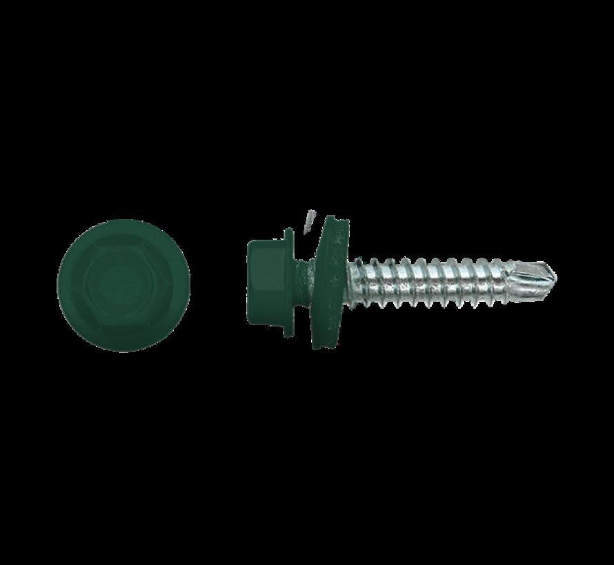 Damwandschroef 35mm Ral 6005