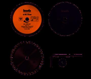 KWB KWB Zaagbladen-set voor handcirkelzaag 89 x 10 mm