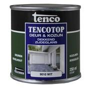 Tenco Tencotop Deur & Kozijn Dekkend Zijdeglans RAL 9010 Wit - 250 ml