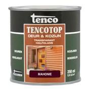 Tenco Tencotop Deur & Kozijn Transparant Halfglans Mahonie - 250 ml