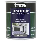 Tenco Tencotop Deur & Kozijn Dekkend Hoogglans Antraciet - 750 ml