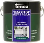 Tenco Tencotop Deur & Kozijn Dekkend Zijdeglans Donkergroen - 2,5 L