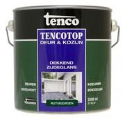 Tenco Tencotop Deur & Kozijn Dekkend Zijdeglans Rijtuiggroen - 2,5 L