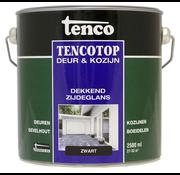 Tenco Tencotop Deur & Kozijn Dekkend Zijdeglans Zwart - 2,5 L