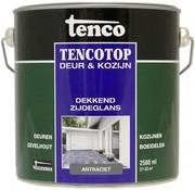 Tenco Tencotop Deur & Kozijn Dekkend Zijdeglans Antraciet - 2,5 L