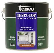 Tenco Tencotop Deur & Kozijn Dekkend Zijdeglans Antiekbruin - 2,5 L