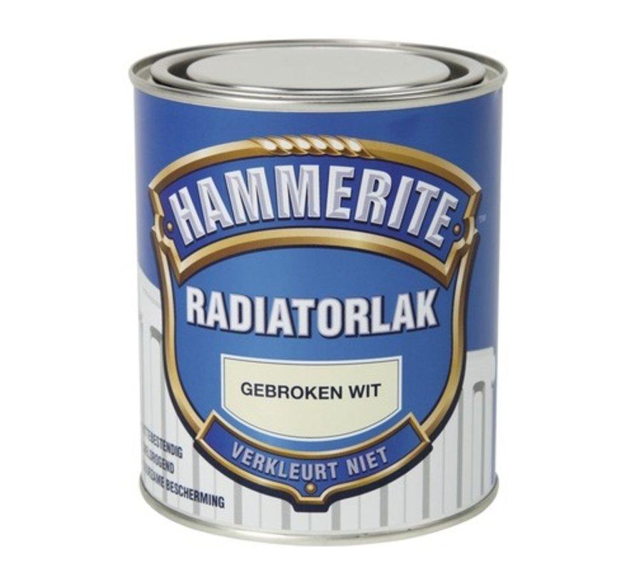 Hammerite Radiatorlak Gebroken Wit - 750 ml