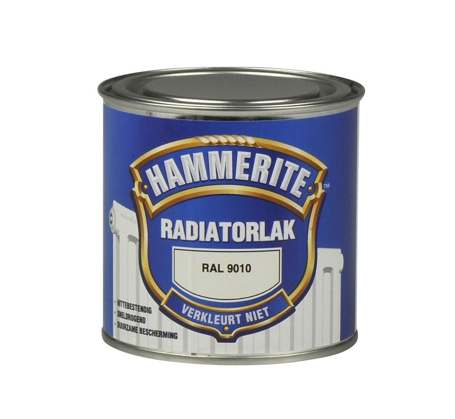 Hammerite Radiatorlak RAL9010 - 250 ml