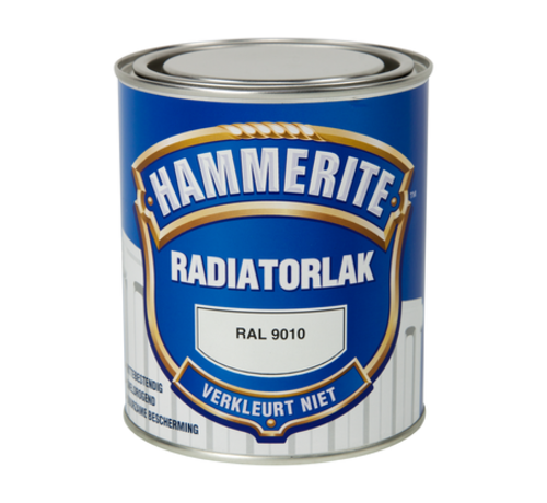 Hammerite Hammerite Radiatorlak RAL9010 - 750 ml