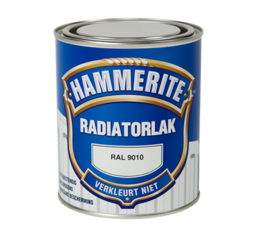 Hammerite Radiatorlak RAL9010 - 750 ml