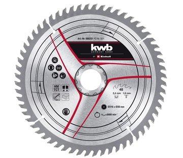 KWB KWB Zaagblad 210 x 30 x 1,2 mm 40 Tands
