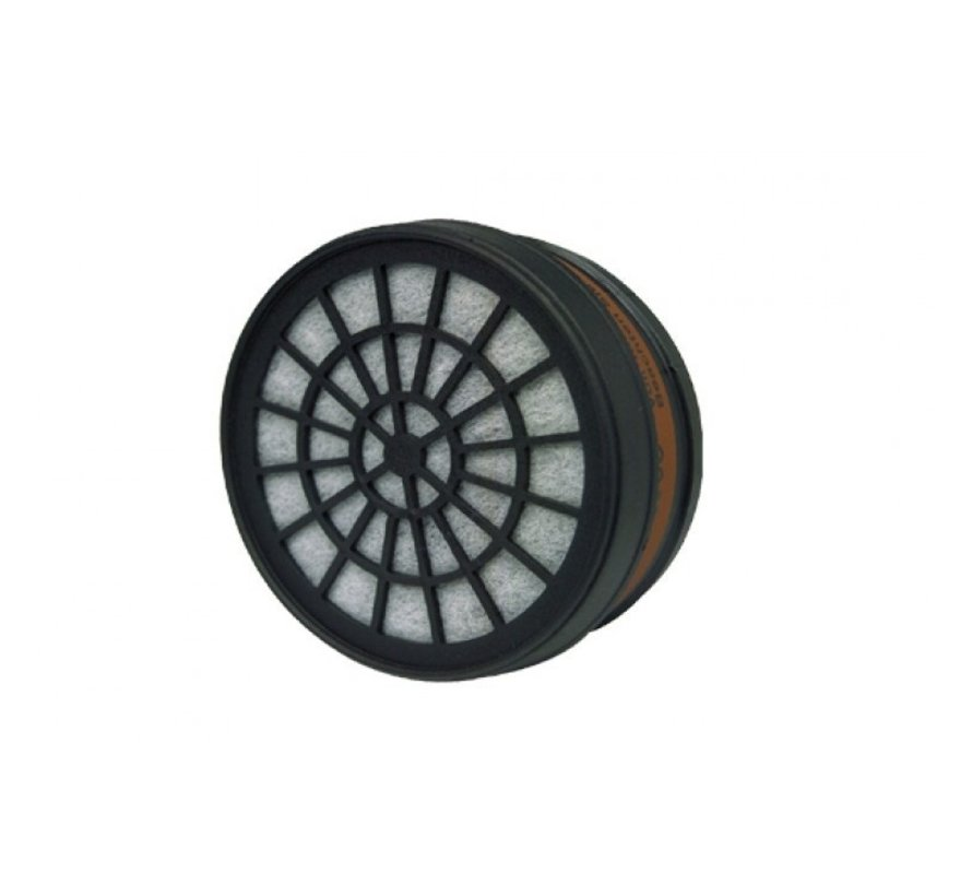 Skandia reserve filterpatroon 80 mm P3 -Stoffilter