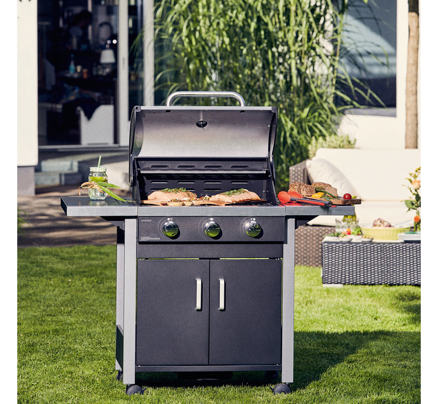 Enders Chicago 3 Gas Barbecue