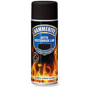 Hammerite Hammerite lak hittebestendig mat zwart - 400ml