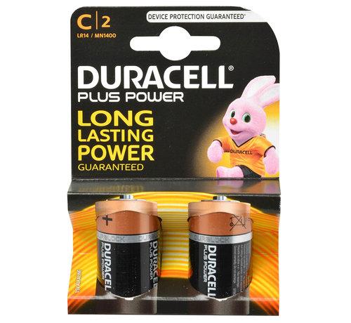 Duracell Duracell Batterij C super alkaline 2 X C 1.5V
