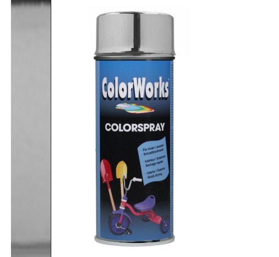 Colorworks Spuitbus Chroom 400 ML