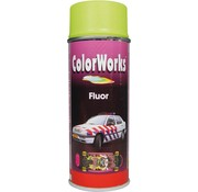 Motip Colorworks Spuitbus Fluor Yello 400 ML