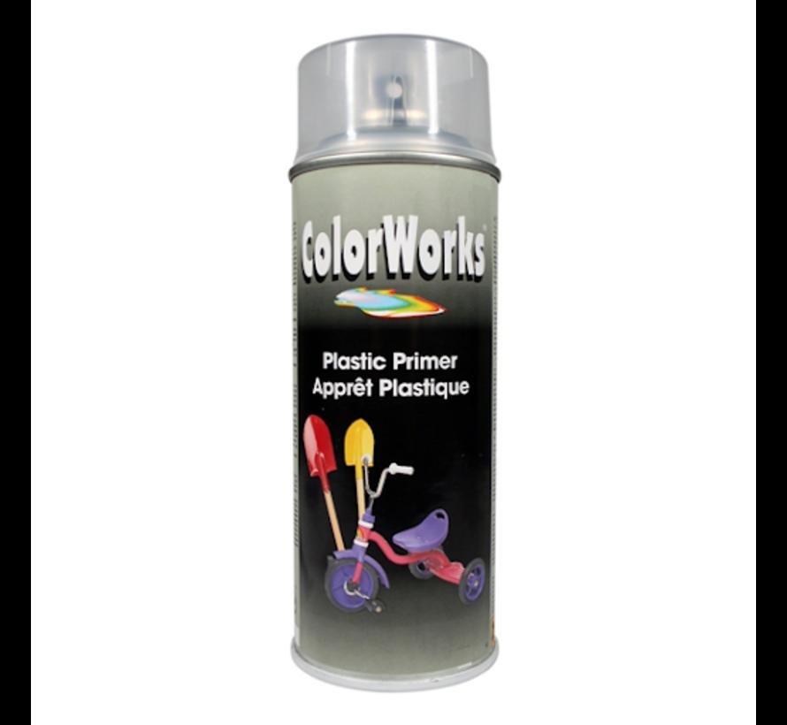 Colorworks Spuitbus Primer Transparant (voor kunststof)- 400ML