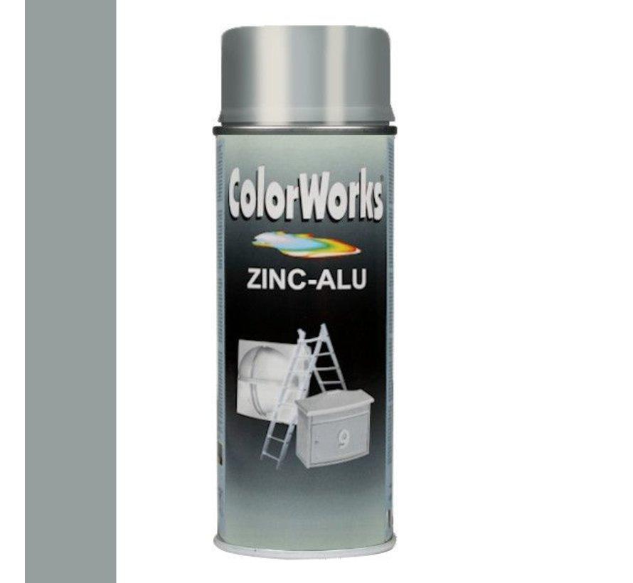 Colorworks Spuitbus Zinkspray ALU-Zink - 400ML