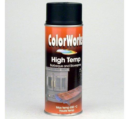 Motip Colorworks Spuitbus Hittebestendig Zwart - 400ML