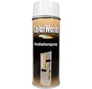 Motip Colorworks Spuitbus Radiatorlak Wit - 400ML