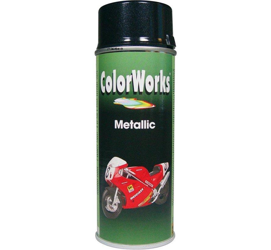 Colorworks Spuitbus Metallic Black - 400ML