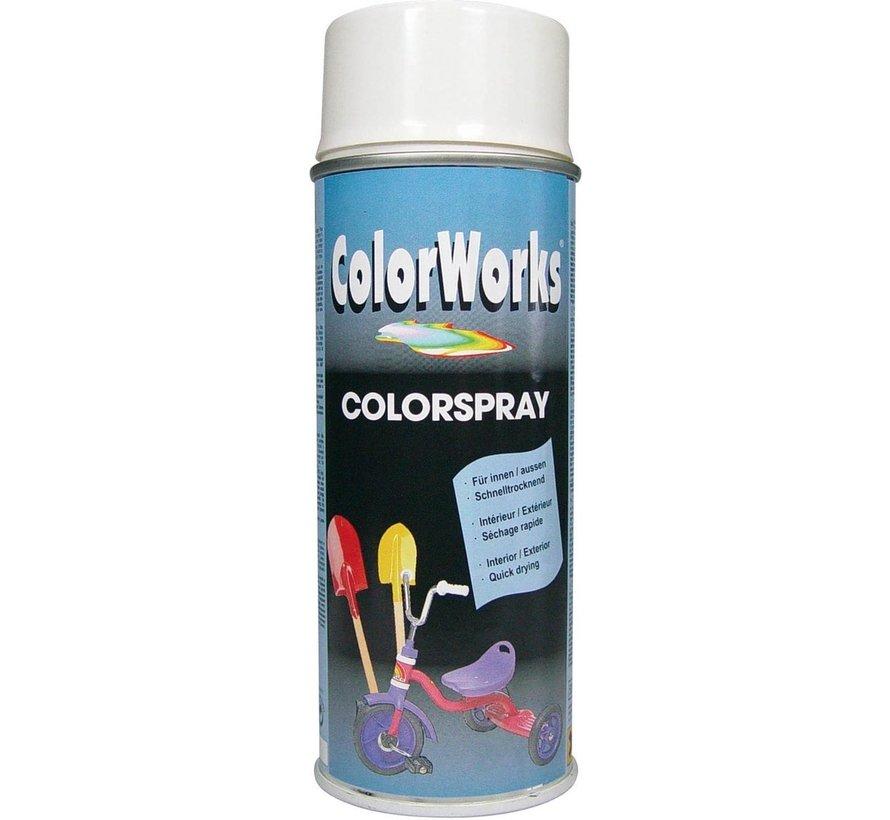 Colorworks Spuitbus Colors HG Wit - 400ML