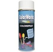 Motip Colorworks Spuitbus Colors ZG Wit - 400ML