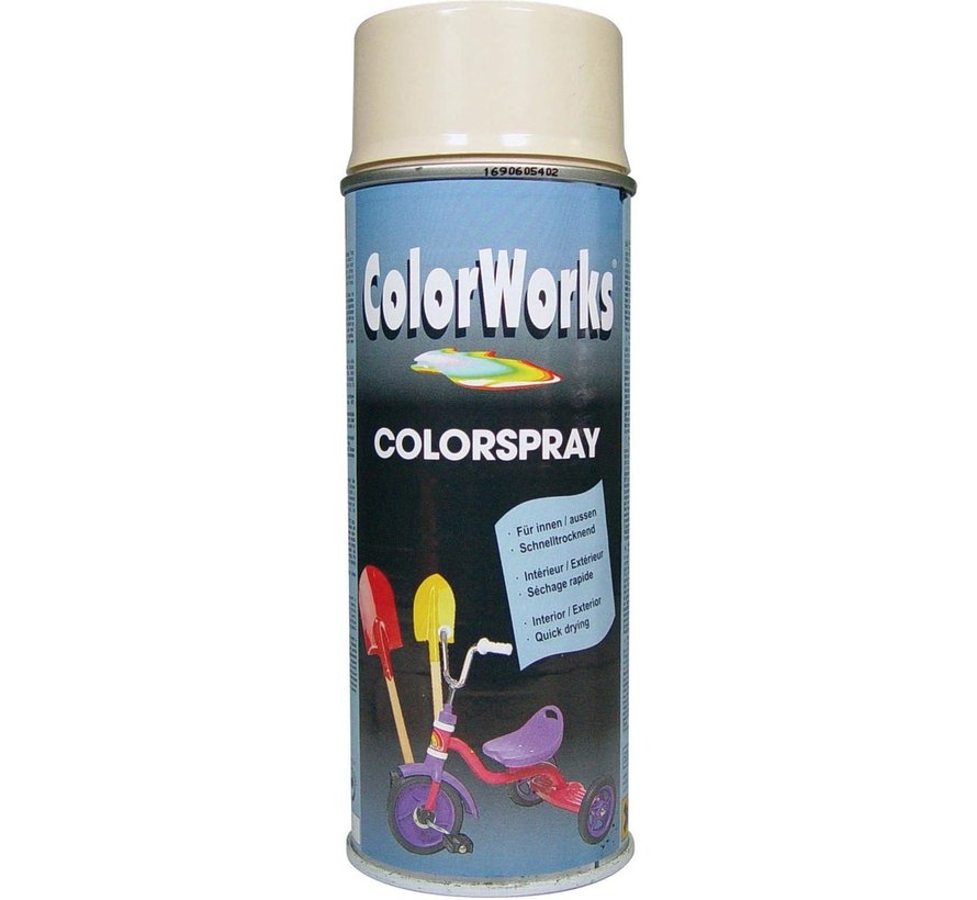 Colorworks Spuitbus Colors Ivoorwit - 400ML