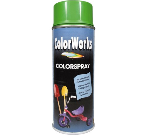 Motip Colorworks Spuitbus Colors Yellow Green - 400ML