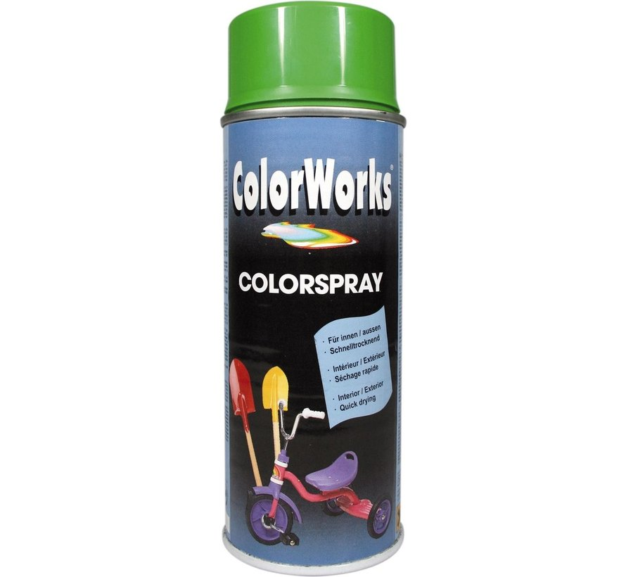 Colorworks Spuitbus Colors Yellow Green - 400ML