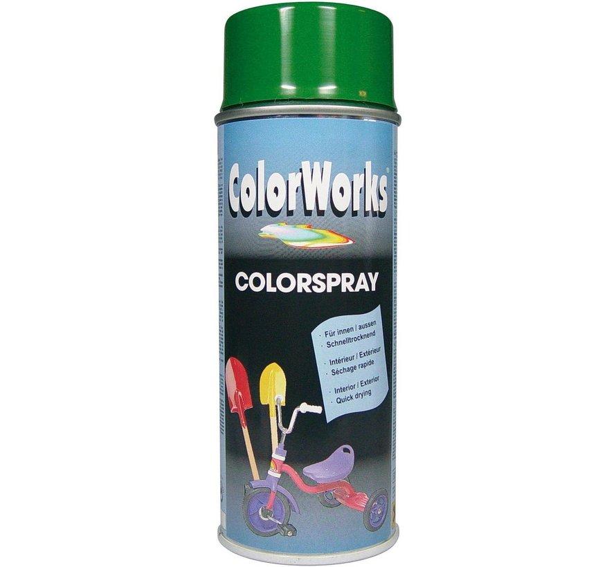 Colorworks Spuitbus Colors Bladgroen - 400ML
