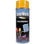 Motip Colorworks Spuitbus Colors Gold Yellow - 400ML