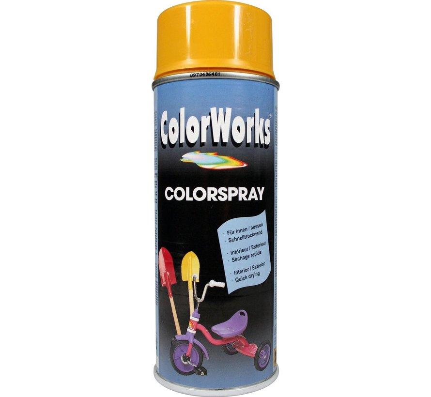 Colorworks Spuitbus Colors Gold Yellow - 400ML
