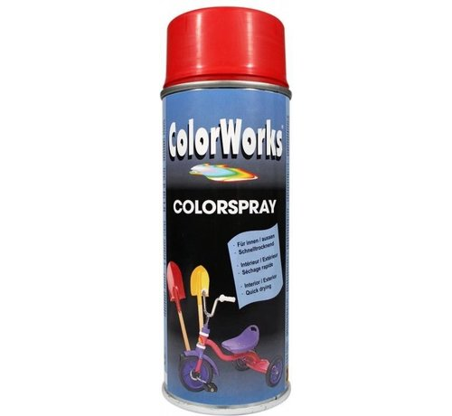 Motip Colorworks Spuitbus Colors Fire Red - 400ML