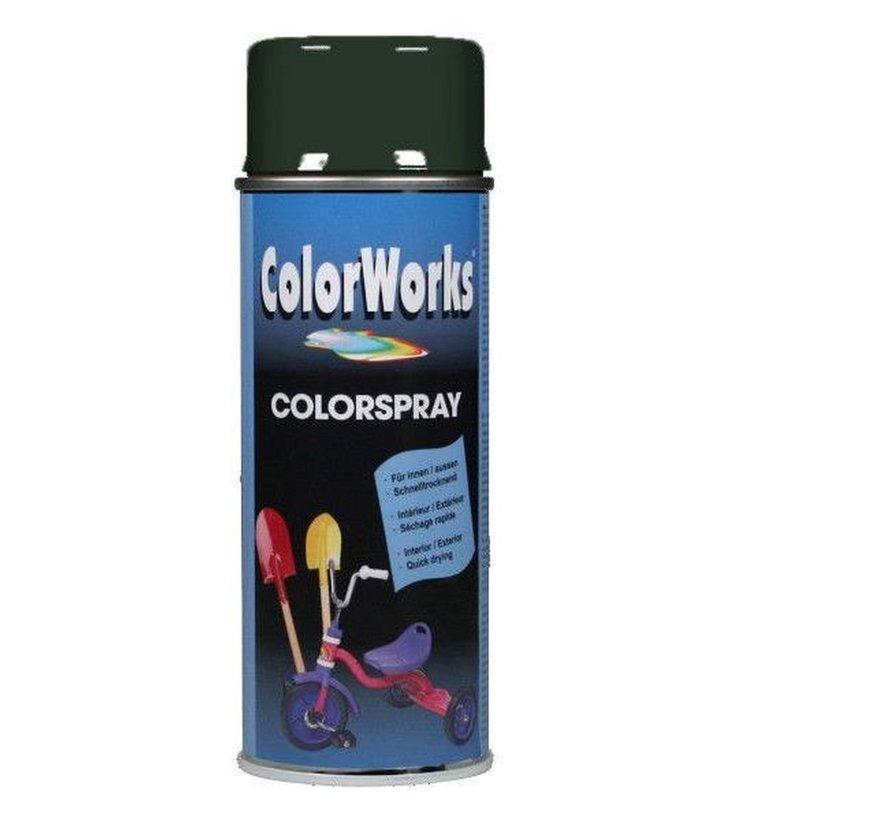 Colorworks Spuitbus Colors Forrest Green - 400ML