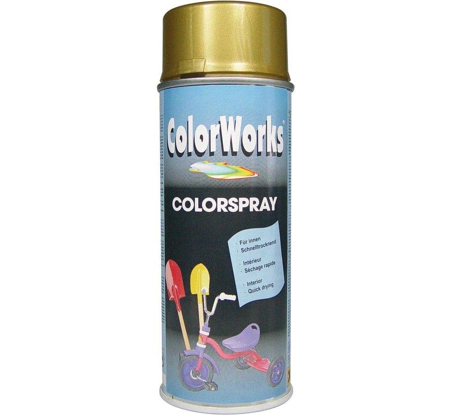 Colorworks Spuitbus Colors Goud - 400ML