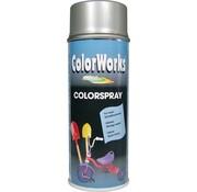 Motip Colorworks Spuitbus Colors Zilver - 400ML