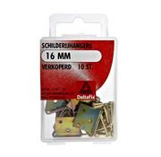 Deltafix Schilderijhangers verkoperd 16 mm 10 stuks